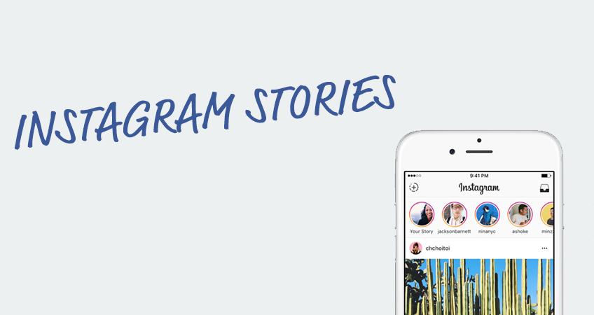 Instagram Stories Header